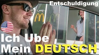 AMERICAN tries to speak GERMAN at McDonalds! (with @itsConnerSully)