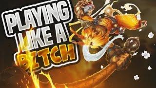 PLAYING LIKE A BITCH: WUKONG