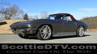 1967 Chevrolet Corvette Convertible Steve Holcomb Pro Auto Custom Interiors