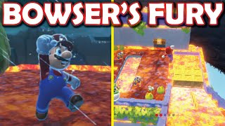 Bowser's Fury FLOOR IS LAVA is INSANE!! (UPDATED MOD)