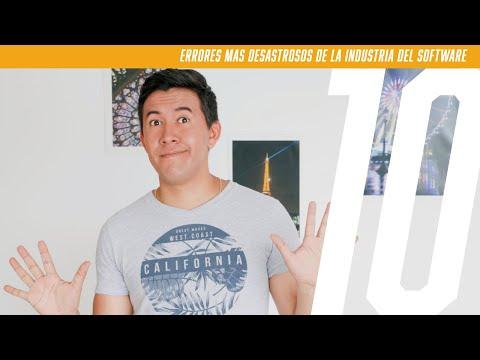 MI TOP 10: Errores Más Desastrosos De La Industria Del Software.