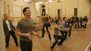 The Cast of A Bronx Tale, Codirected by Robert De Niro, Sing the New Music by Alan Menken