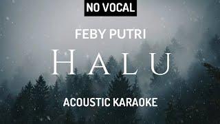 Feby Putri - Halu ( Acoustic Karaoke )