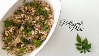 Patlıcanlı Pilav - Pratik Tarifler / Yemek Tarifleri - Melis'in Mutfağı