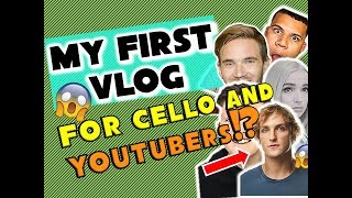 MY FIRST VLOG (feat. Pewdiepie, Poppy, Logan Paul, and many others)