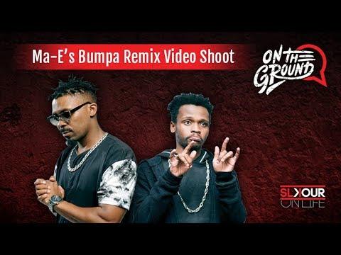 Download On The Ground: Inside Ma-E ft Flex Rabanyan #BumpaRemix Video Shoot