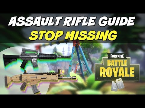 Fortnite Assault Rifle Tips | How To Win More Gun Fights!