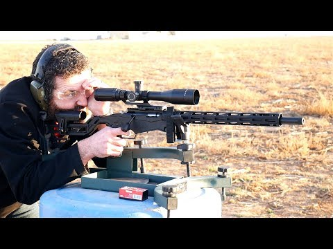 Ruger Precision Rimfire First Accuracy Testing