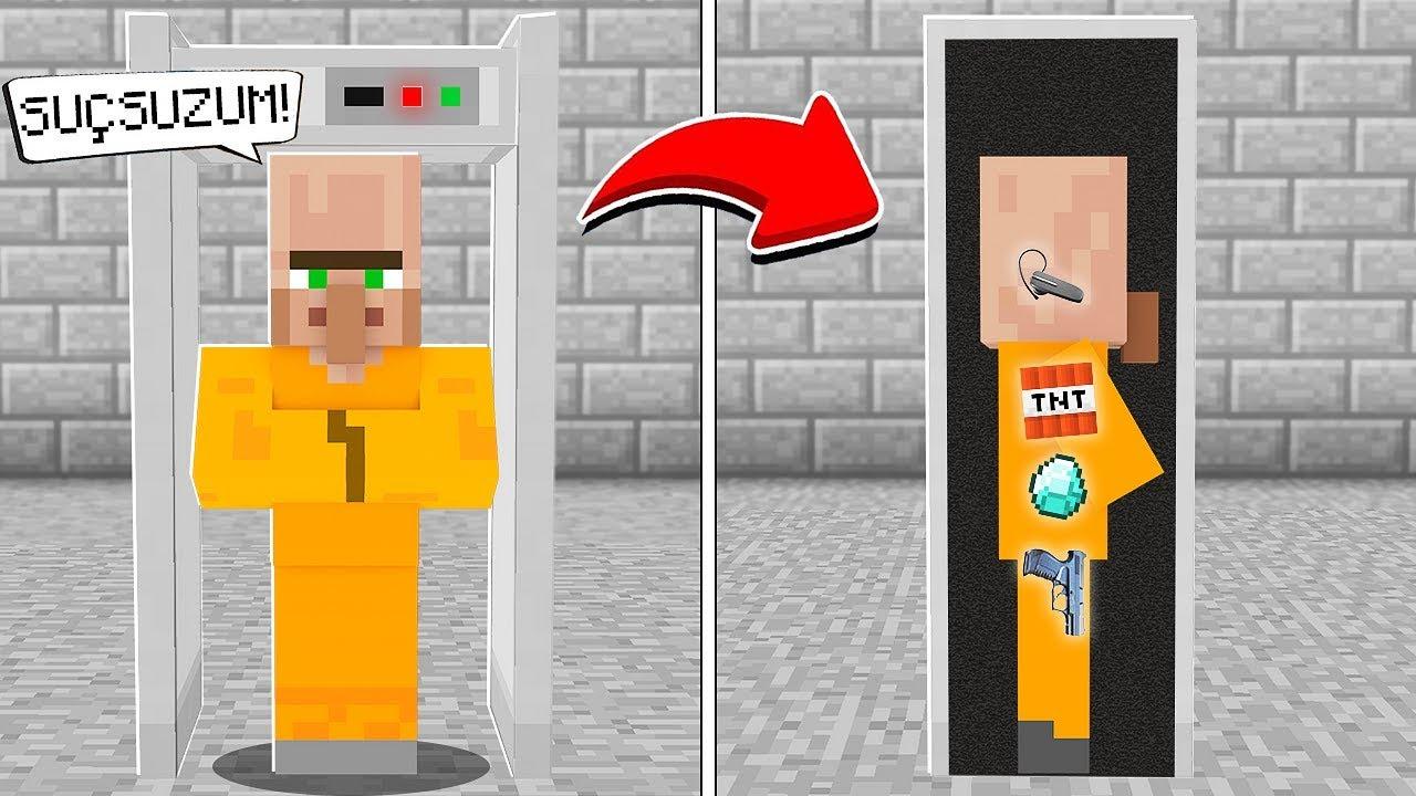 FAKİR KÖYDE HAPİSHANE KONTROLÜ YAPTI! ???? - Minecraft