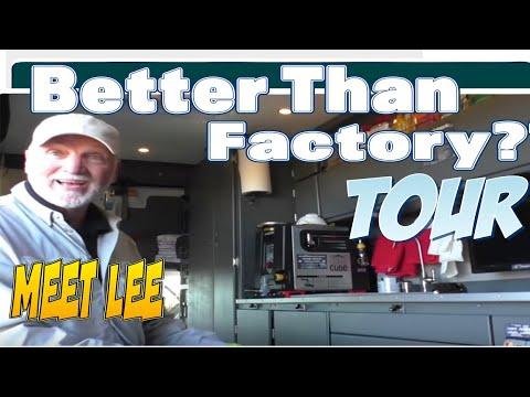 Van Conversion Ideas | Lee's Incredible Van Build 2 *FULL TOUR*