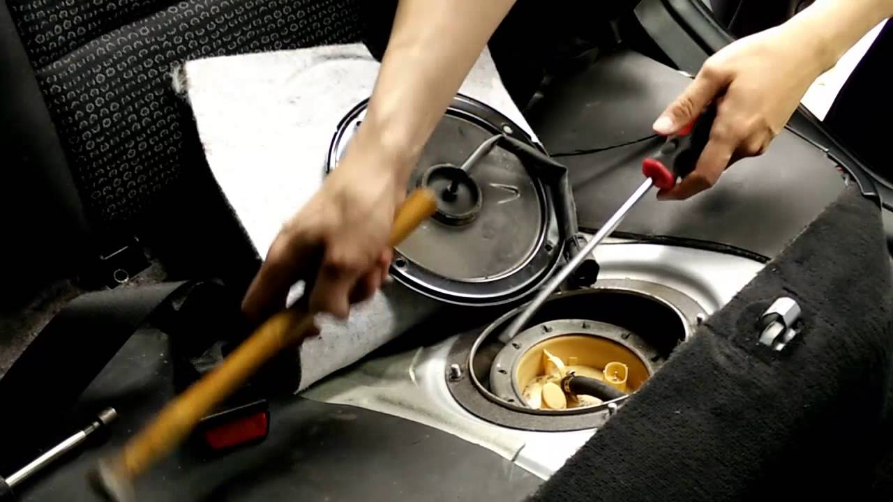 bmw e46 how to replace fuel tank level meter fuel gauge tank pump youtube [ 1280 x 720 Pixel ]