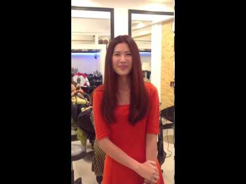 น้องกิ๊ฟ นางสาวไทย ปี 2553-2554 มาทำสีค่ะ