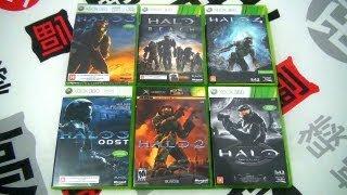 Unboxing Halo 4 Nacional e Coleção da Franquia (Pt-Br) - Xbox 360 - CJBr