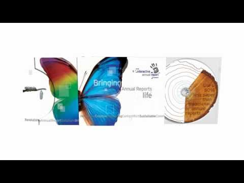 3D Animation of the UK's first TRUE Interactive Annual Report (2005)
