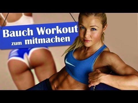 Bauch - Homeworkout zum Mitmachen!  Training mit Sophia Thiel