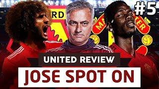 Watford 1-2 Manchester United | United Review Post Match Analysis | Live Stream | Man Utd News