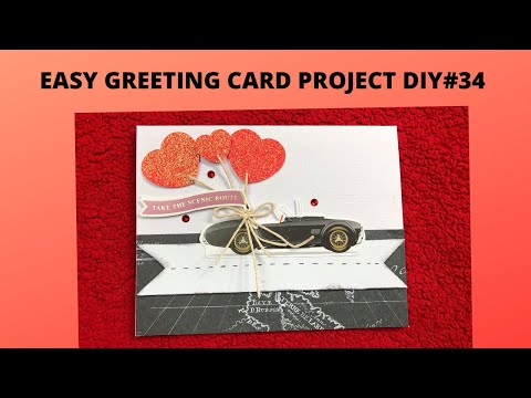 EASY GREETING CARD PROJECT DIY#34 SPELLBINDERS CARD KIT OF THE MONTH JAN 2020