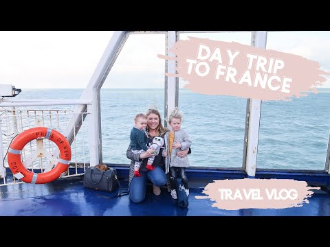 FAMILY DAY TRIP TO FRANCE | P&O FERRIES | AD