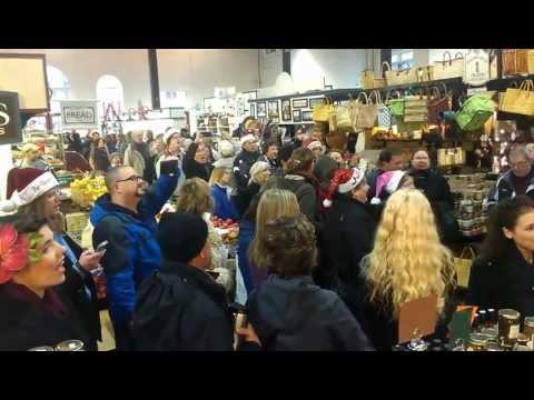 "Lancaster Central Market - Hallelujah Courus - ""Flash Mob"""