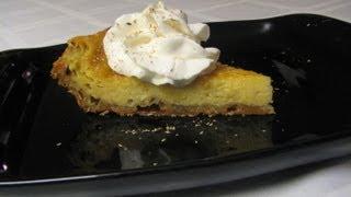 Eggnog Pie -- Lynn's Recipes