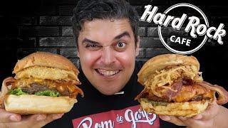 HARD ROCK CAFE - Os Sanduíches Lendários