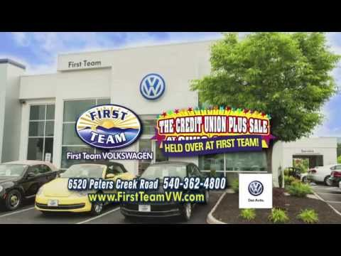 First Team Volkswagen Credit Union Held Over Sale!