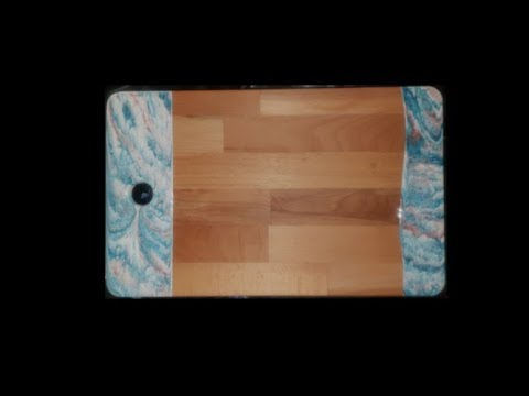 Resin Cutting Board - Full tutorial!