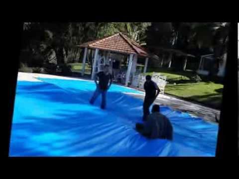 capa para piscina super suporta 300kg comprar lona de