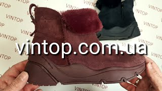 Обзор обуви. Tamaris 1-26402-21 ботинки зимние женские  в vintop.com.ua