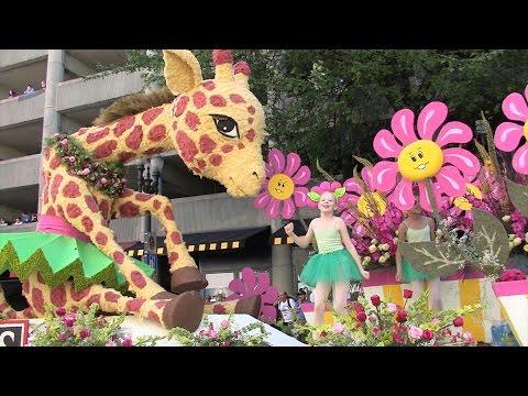 Rose Festival Parade 2015 Portland,Oregon