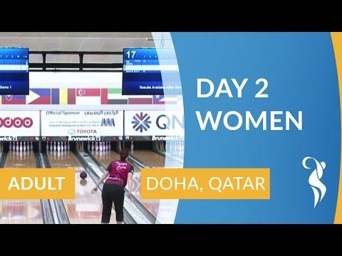 Qualification Block 1, Women - Lanes 13 & 14 - 2016 World Singles Championships, Doha