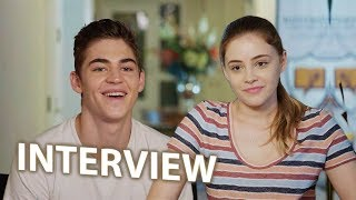 Josephine Langford & Hero Fiennes Tiffin Interview - AFTER (2019)