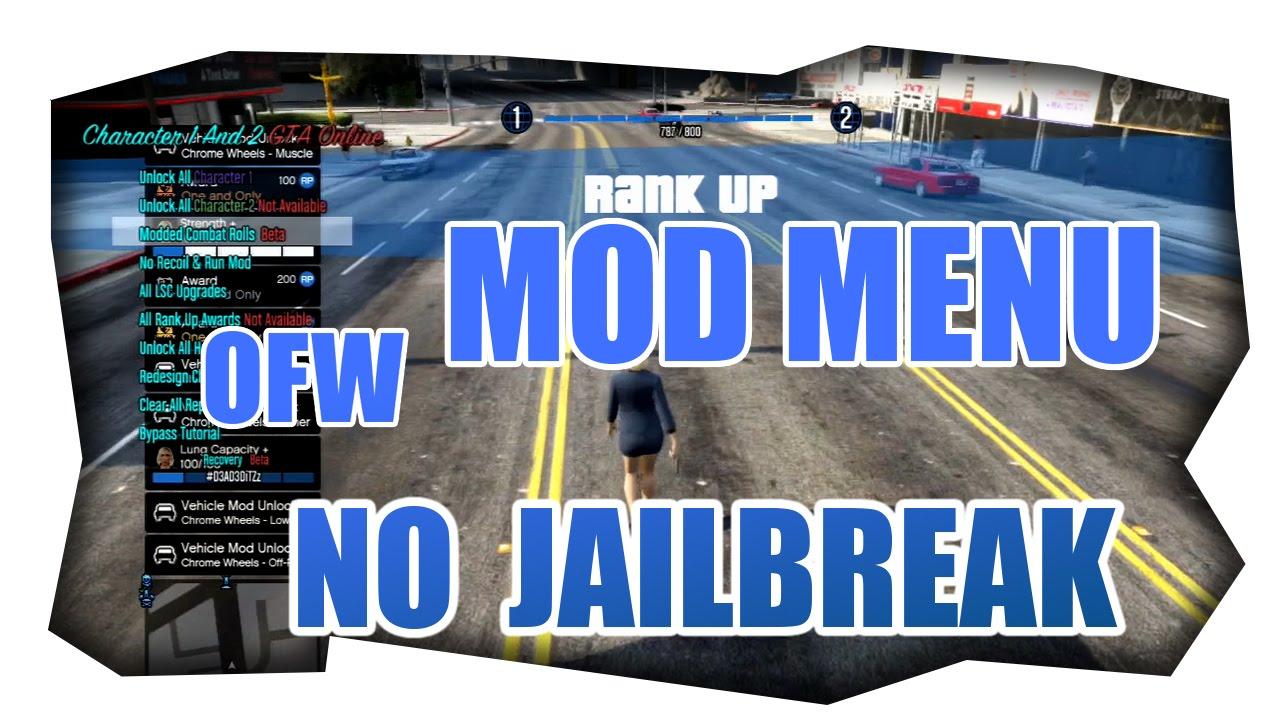 NEW OFW Mod Menu GTA5 1 26 [SOLO/ONLINE] Showcase [NO