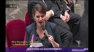 Schiappa ovationnée après avoir sèchement rabroué un député