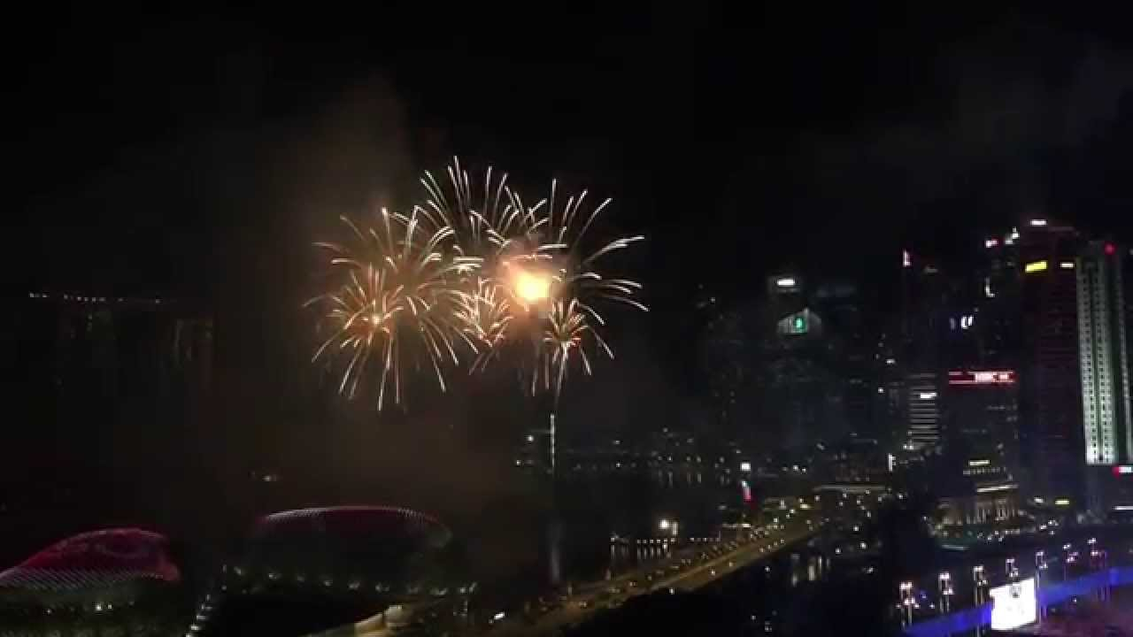 NDP Preview Finale Fireworks 1st Aug 2015   Padang, Marina Bay And Gardens  By The Bay View!!!