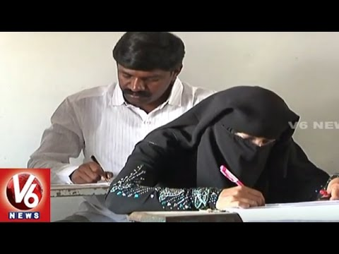 Nakrekal MLA Vemula Veeresham Attends For PG Exams At Nalgonda | V6 News