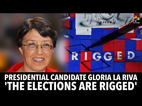 Presidential Candidate Gloria la Riva: