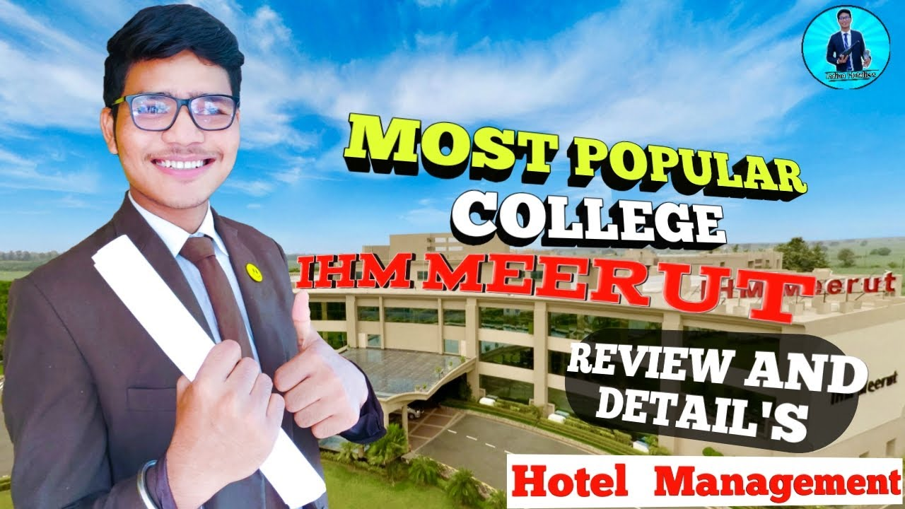 IHM MEERUT College Review and collage Details with college Tour .