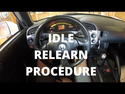 Idle Relearn Procedure | Honda S2000