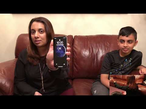 Download Youtube: Ten-Year-Old's Face Unlocks Face ID on His Mom's iPhone X