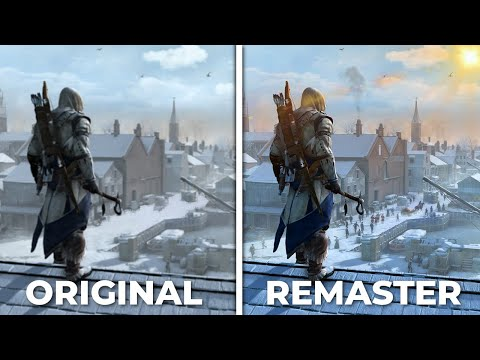 Assassin's Creed 3: Remastered VS Original - Side by Side Comparison | Graphics thumbnail