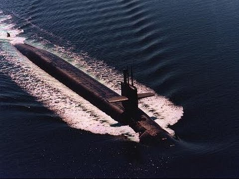 US Navy Ohio class Nuclear Ballistic Missile Submarines