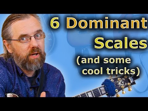 6 Most Important Dominant Scales And Hidden Tricks With Them
