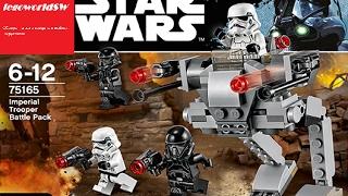 Обзор на лего звёздные войны Imperial Trooper Battle Pack 75165