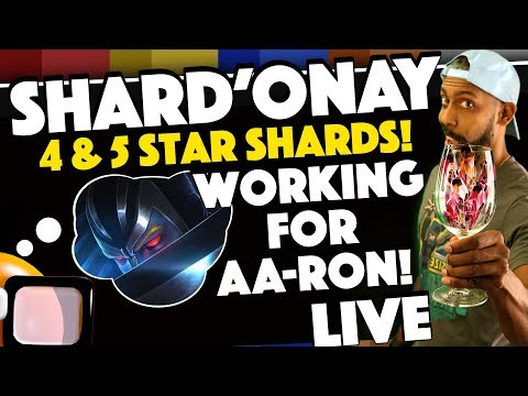 Prepping for 5 Star ARCHANGEL (AA-RON) 4 and 5 Star Shard Farming!