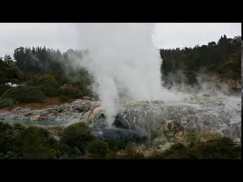 Geothermal Tour in Rotorua, New Zealand Part 3