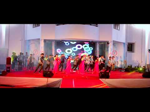 ROYAL MECH Best Energetic College Dance Ever  ArtsDay First Prize Nakshatra at Saintgits College