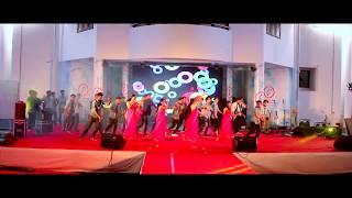 Best College Dance First Prize Won Pratitya Saintgits college Royal Mech Fest