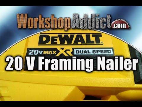 DeWALT 20 Volt Max Dual Speed Framing Nailer - DCN692M1