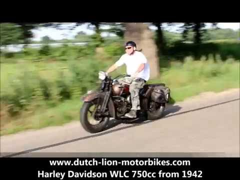 Harley Davidson WLC 750cc From 1942